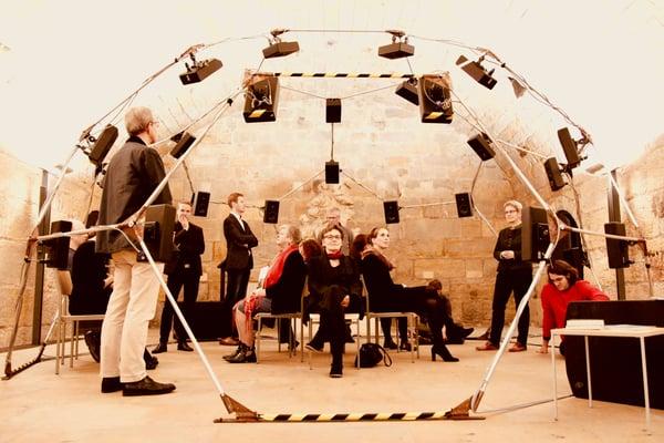 Ambisonics Installation by Orchestronik