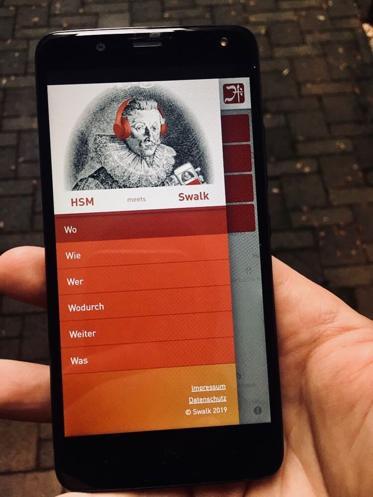 SWALK - binaural audio application