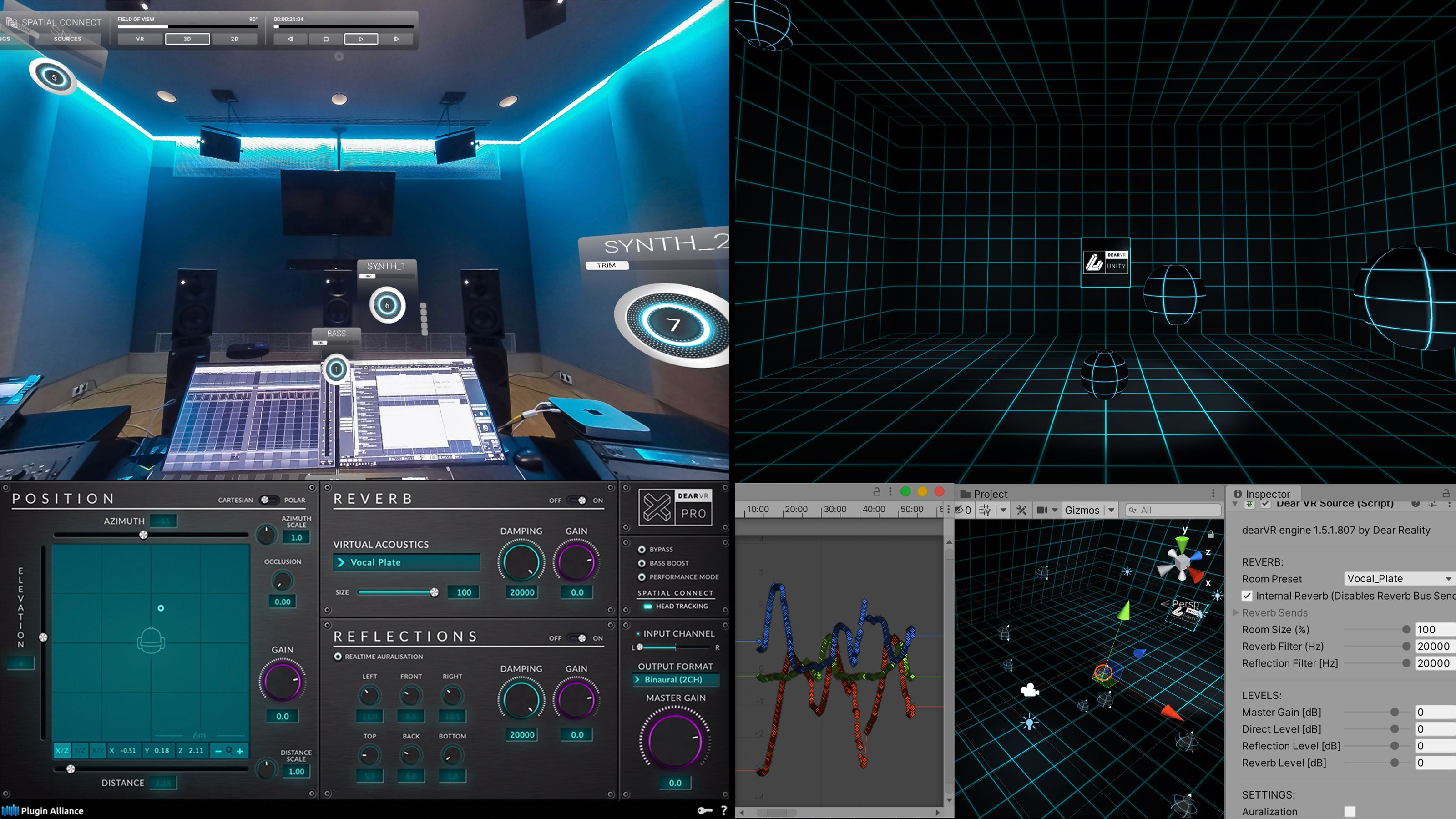 Object-based 3D audio mix - from the DAW to the interactive world